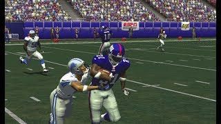 NFL 2K5 Franchise Giants vs Lions