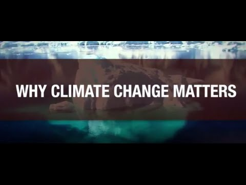 Why climate change matters