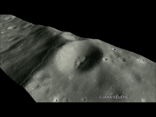 V 044 0032 「かぐや」に搭載の地形カメラ(TC)による映像