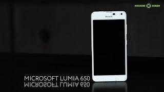 обзор Microsoft Lumia 650 в 4к