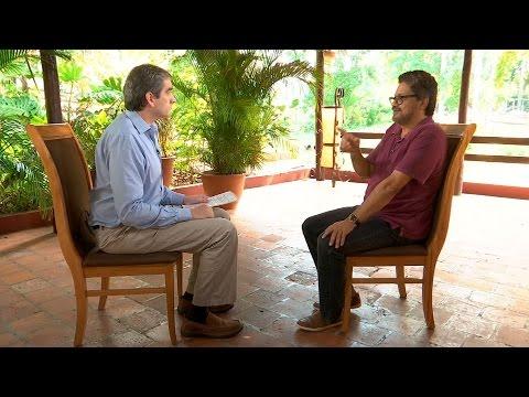 Iván Márquez habla con Félix De Bedout sobre el proceso de paz