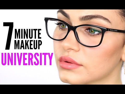 My 7 Minute Makeup ⏰  For University / School | Ruby Golani