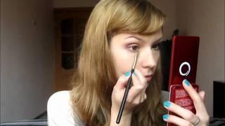 Горчица и слива - макияж для карих глаз