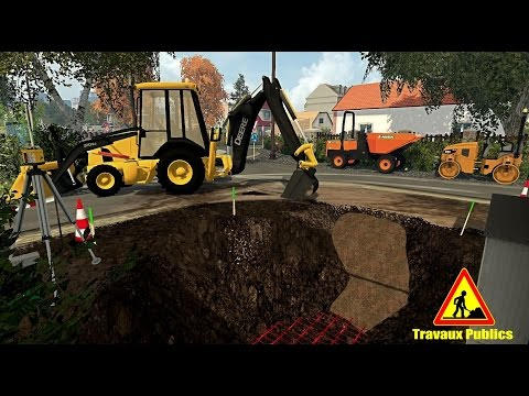 Farming Simulator Travaux Publics - Fans d'engins de chantie