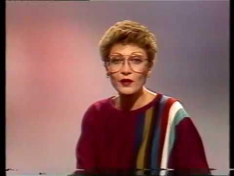 BRT TV1 - Leader En Aankondiging Rachel Frederix (6-9-1982)