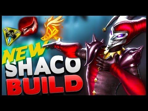 Shaco's New Season 9 Carry Build!