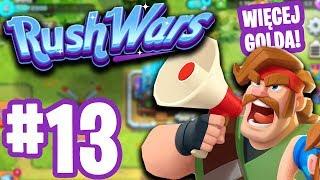 RUSH WARS - ZWIĘKSZONO GOLDA?