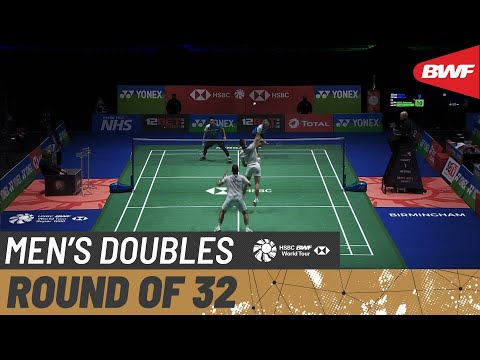 YONEX All England Open | Day 01: LANE / VENDY (ENG) vs AHSAN / SETIAWAN (INA) [2]