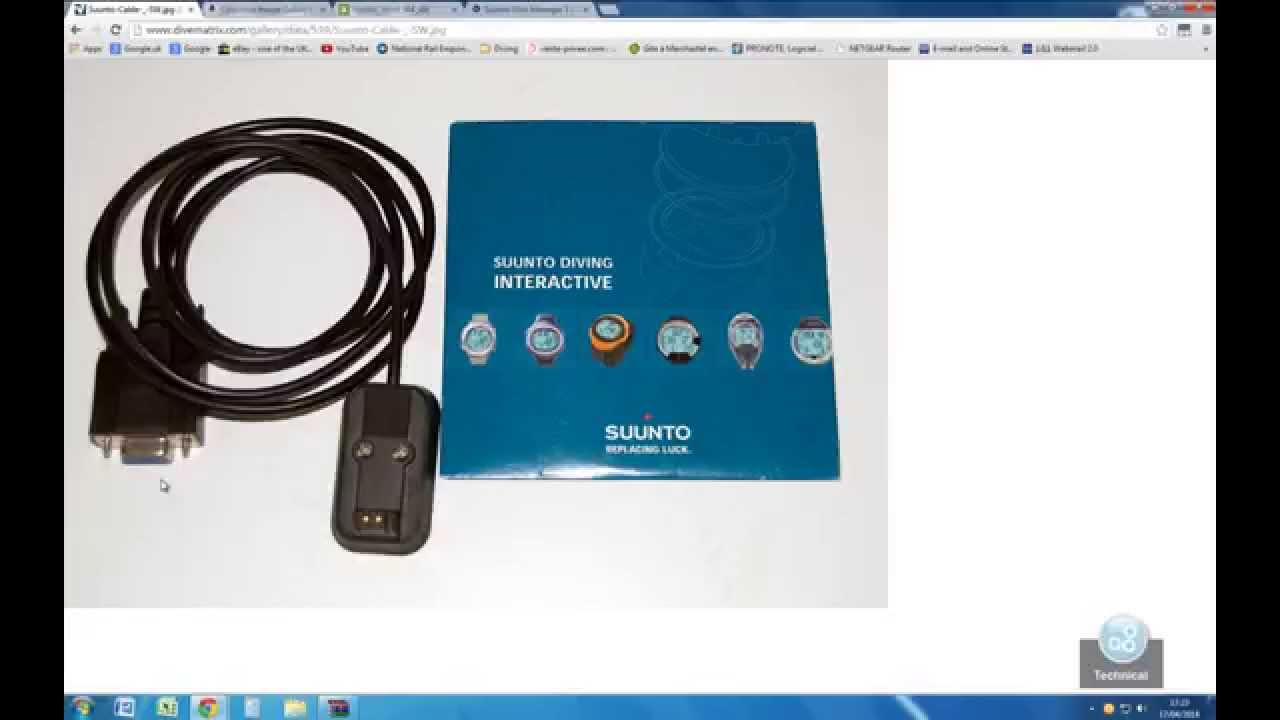 Tutorial How To Connect Suunto Dive Computer Pc Using 9 Pin Serial Cable Schematic