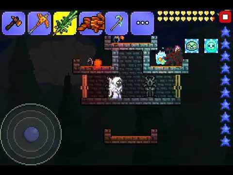 Terraria IOS - Demon eye farm!! (To get black lens!! THX ...