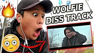 REACTING TO WolfieRaps - Check the Statistics Feat. Ricegum (Official Music Video) thumbnail