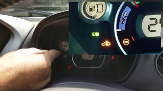 Sticking gear shift on a Mitsubishi i-MiEV, Peugeot Ion or Citroen C-Zero