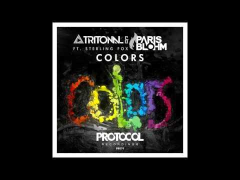 Tritonal & Paris Blohm ft. Sterling Fox - Colors (Slowed Down 5x)