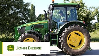 Video 5M Series Tractors John Deere - Walkaround download MP3, 3GP, MP4, WEBM, AVI, FLV November 2017