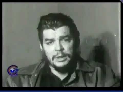 Entrevista al Che Guevara Agosto 1961 Punta del Este Che Guevara interview August 1961