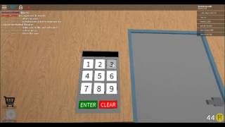 ROBLOX  Code For The Normal Elevator 2017