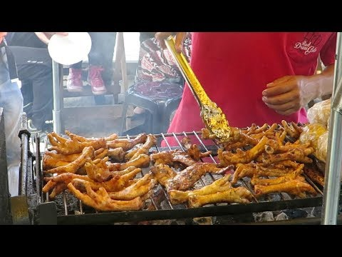 Grilling Chicken Feet Lima Streed Food Peru Streetfoodartists