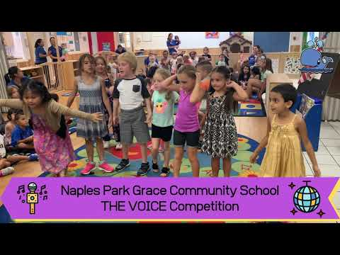 The Voice Competition Summer Camp 2019 Grace Community School of Naples Park