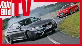 BMW M4 vs. Audi RS 5