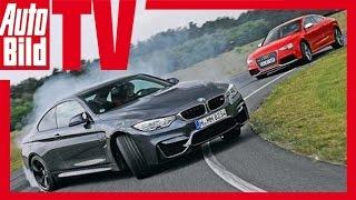 BMW M4 vs. Audi RS 5