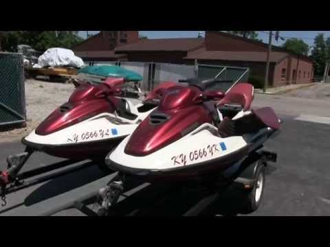 1998 1999 Sea Doo GTX Limited Jet Skis Walk Through Video