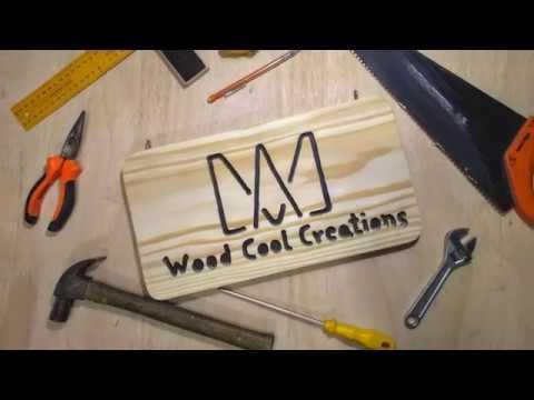 Wood Cool Creations Logo (DIY woodworking)