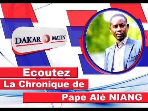Voici la Chronique du 09 juin 2020 : les scandales d'Adama Bictogo au Sénégal
