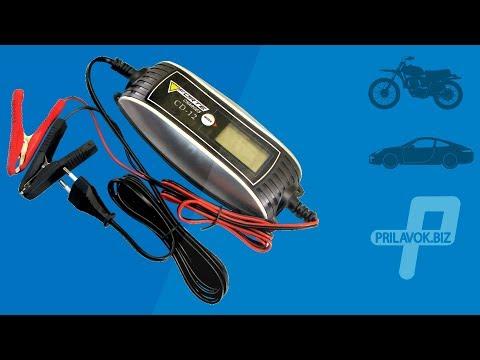 Зарядное для мотоциклов, скутеров и легковых автомобилей Forte CD-12