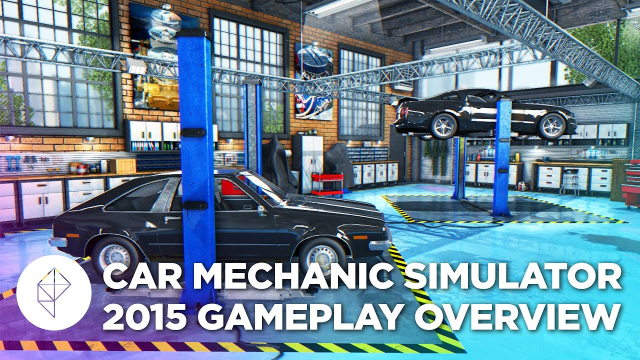 We played Car Mechanic Simulator 2015, and (kind of) learned