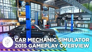 Car Mechanic Simulator 2015 - Gameplay Overview