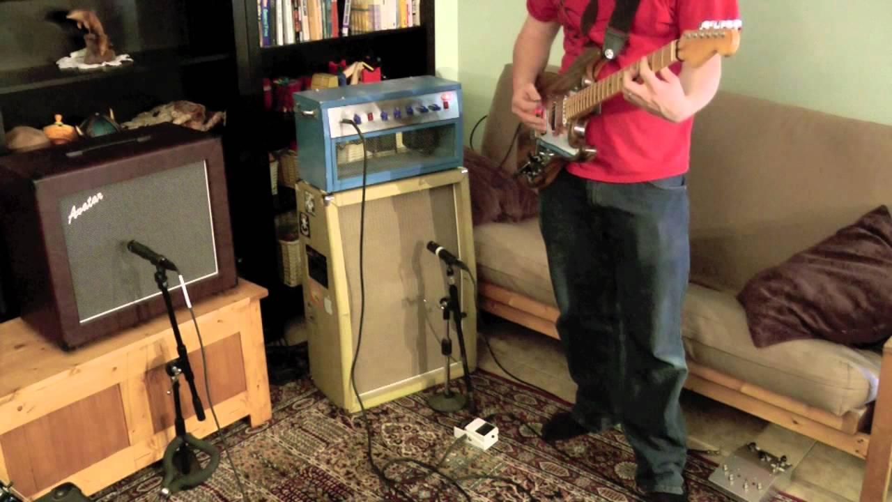 DIY Plexi jr 40W guitar amp DIY strat  YouTube