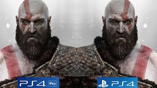 God of War Is Arguably The Best Looking Game of All Time, PS4 Pro vs PS4 Comparison [4K/60fps]