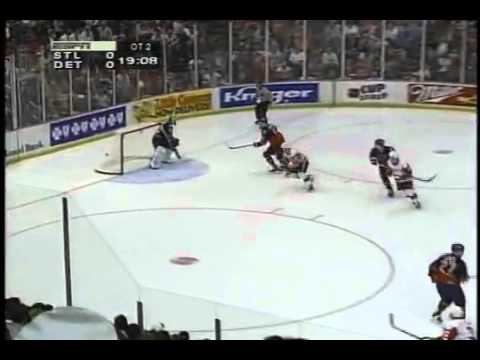 Steve Yzerman 2OT Goal Game 7 1996 Playoffs YouTube