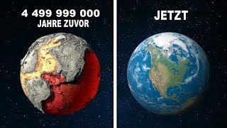 Planet Erde vor 4 499 999 000 Jahre