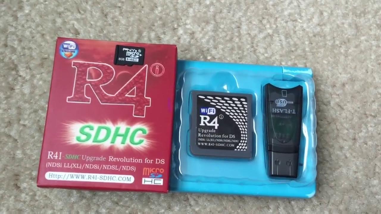 logiciel r4 sdhc