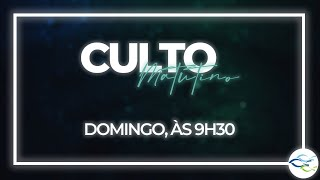 Culto Dominical (Matutino) - 08/11/2020