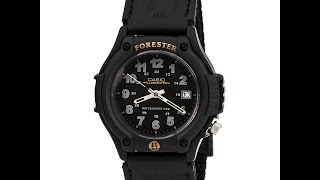 Casio FT500WVB-1B Men's Forester Sports Black Dial Black Resin Watch Review Video