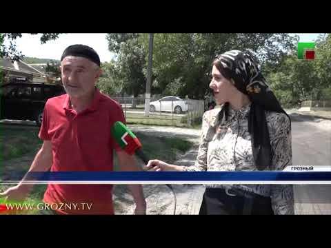 В Грозном продолжается реализация регионального проекта «Дорожная сеть»