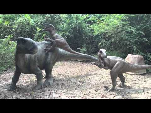 Cajun Palms Rv Resort Prehistoric Park Youtube