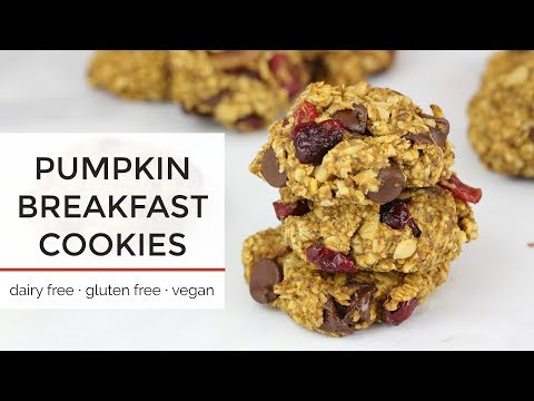 Pumpkin Breakfast Cookies | Easy Healthy Vegan Cookie Recipe