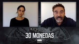 Megan Montaner y Eduard Fernández valoran sus personajes en '30 monedas'