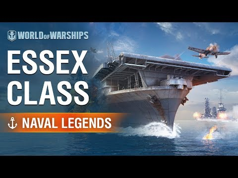 [World of Warships] Naval Legends: USS Essex Aircraft