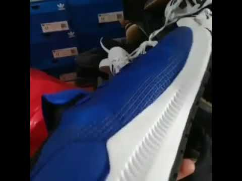 pasión Poner la mesa Menagerry  NEW ADIDAS SOLAR BLAZE BLUE LIST WHITE *Original Sneakers 👟 - YouTube