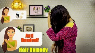 Hair Remedy: Anti Dandruff:  Latest Beauty Video 2018: Beauty Squad