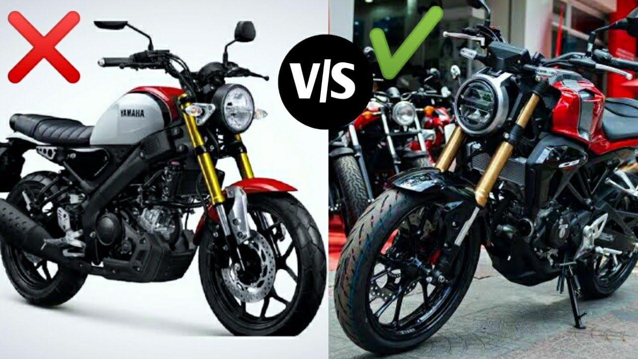 2020 Yamaha Xsr 155 Vs Honda Cb 150r Detailed Comparison Xsr 155 Vs Cb 150r Price Youtube