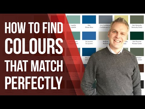 "Interior Decorating - Paint Colour Schemes That ALWAYS Coordinate Perfectly ""Your First Four Houses"""