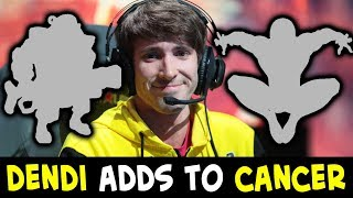 Dendi adds to CANCER in Dota - disgusting picks before 7.20