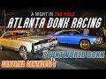 Donkmaster Vs Stuntman in the Streets of ATLANTA ! GA vs SC Donk Racing