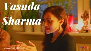 Krishna Bhajan - Vasuda Sharma ft. Prewien (harmonium) 2015