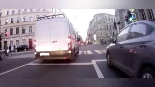 Аварии на дороге, приколы на дороге 2018 5